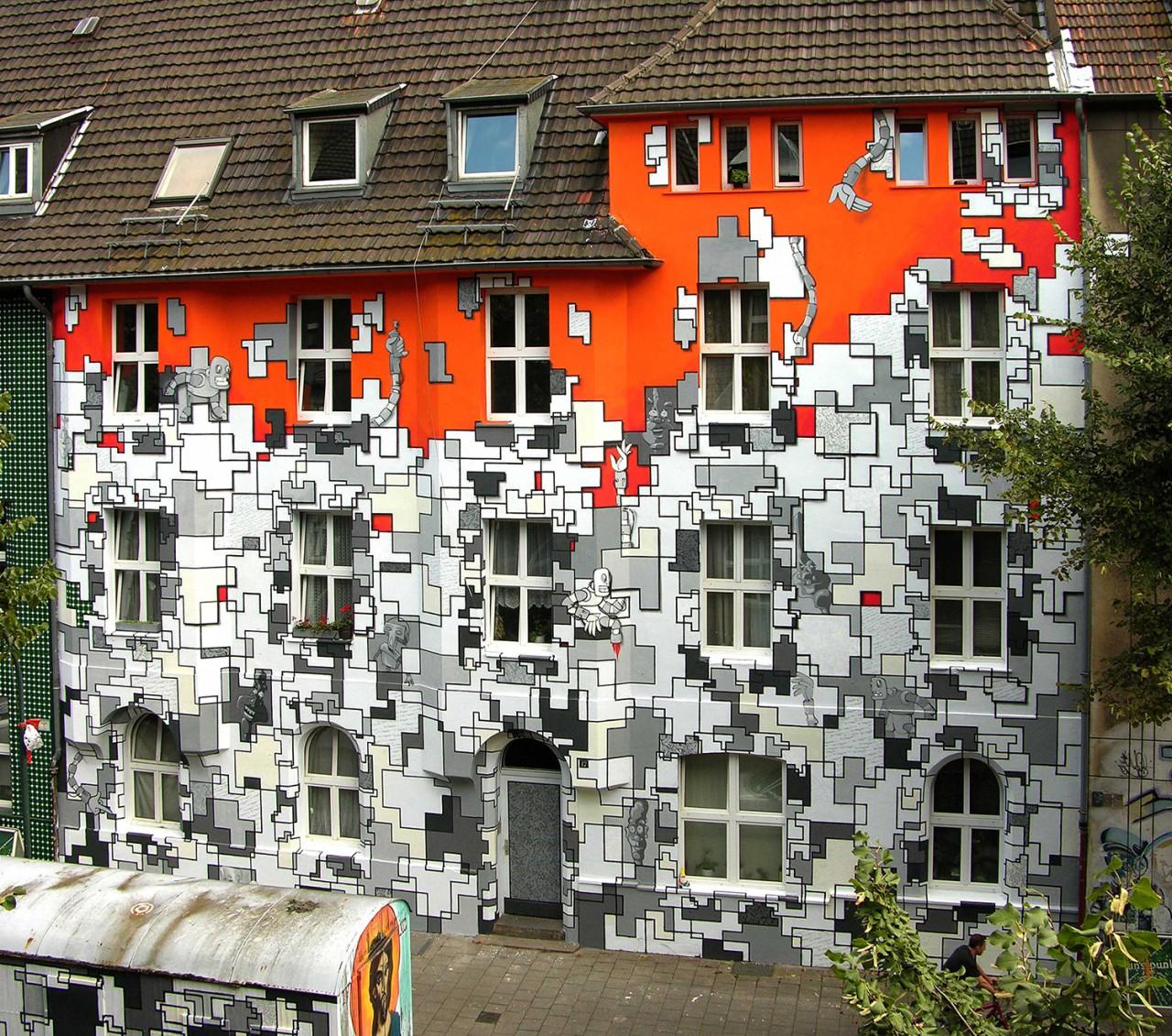 BEN MATHIS  Künstler I Artist Puzzle, 2006, Düsseldorf, mit Majobrothers