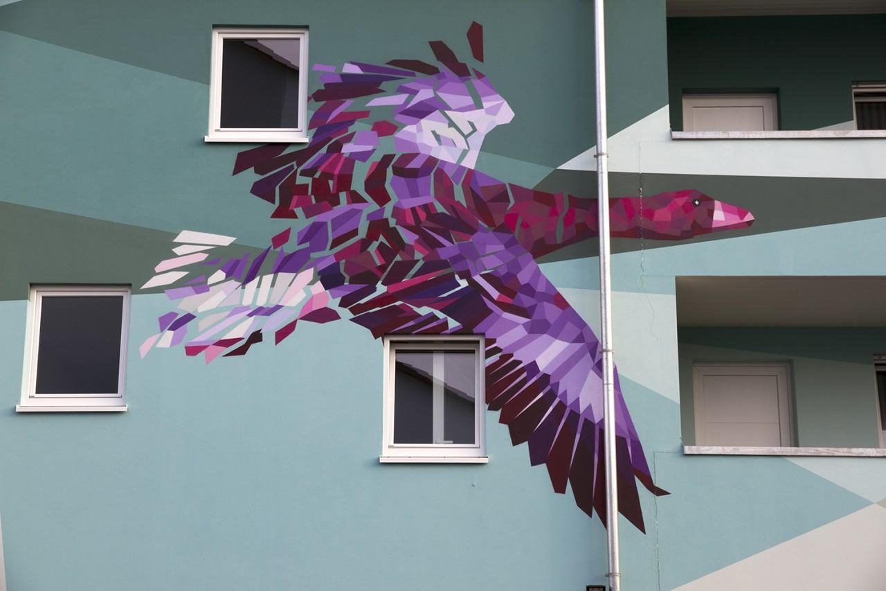 BEN MATHIS  Künstler I Artist Migration, 2016, Langenfeld, für Ziska Bauunternehmen GmbH