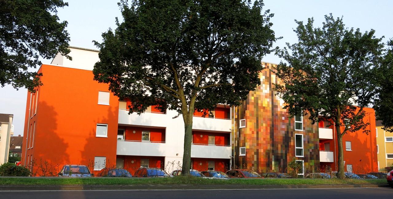 BEN MATHIS  Künstler I Artist Wald/Herbst, 2015, Langenfeld, für Ziska Bauunternehmen GmbH
